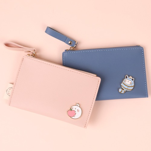 MOLANG SIMPLE BADGE CARD WALLET