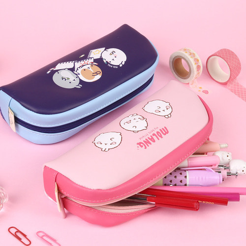 MOLANG HALF MOON PENCIL CASE2